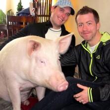 Derek Walter & Steve Jenkins, les papas de la célèbre Esther The Wonder Pig