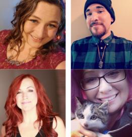 Kimberly Carroll, Mandi Howard, Eric Vautour, Shawna Gray